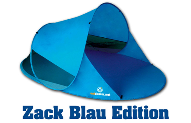 zackII blau Pop up Strandzelt Zack II