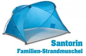 Familien Strandzelt Santorin