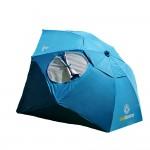 Sombrello Blau 150x150 Strandschirm, Sonnen  und Windschutz Sombrello